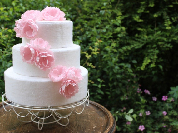 how to preserve wedding cake forever pink flower cake topper set garden wedding classic 16115