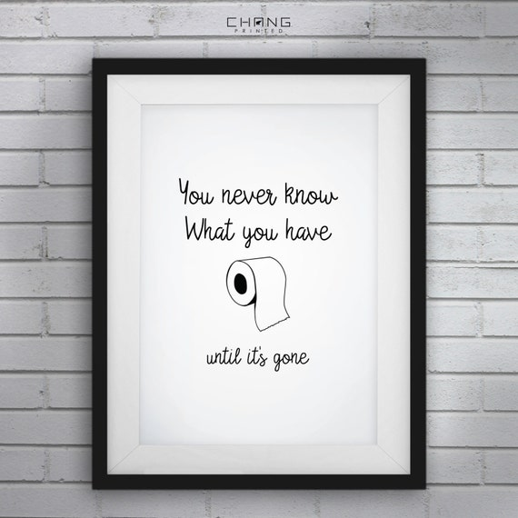 Funny Bathroom ArtFunny Bathroom SignsYou Never Know What