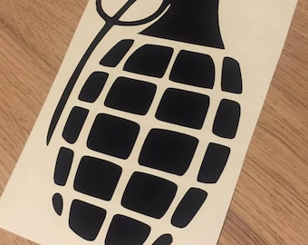 Grenade Vinyl Decal