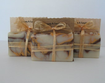 Honey & Leather Handmade Soap