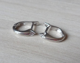 925 Sterling Silver English Lock Cute