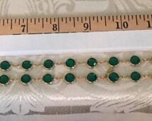 Vintage Vonelle swan signed Swarovski full lead Crystal, necklace