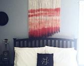 Boho Wall Hanging/ Boho Wall Decor/ Wall Tapestries/ Dip Dye/ Boho Nursery/ Boho Tapestry/ Boho Wall Hanging/ Boho Home Decor/ Wall Art