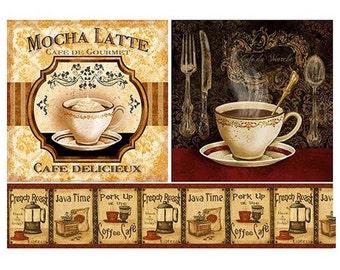 Coffee, cafe, latte, Decoupage paper,