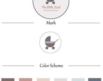 Pre-made Logo + Brand Identity Set + Business Card Design
