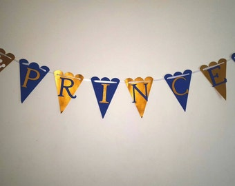 Royal Baby Shower Signs, Prince!