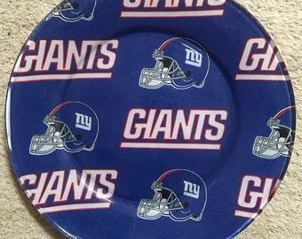 """NY Giants 12"""" Platter"""