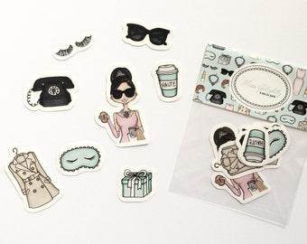 Miss Golightly Sticker Pack