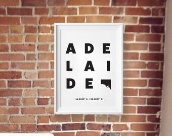 Adelaide print