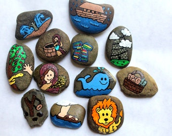 Story Stones - Bible Stories Storytelling | Sunday School Games | Scripture Stories | Children's Stories | LDS | Imagination | Game