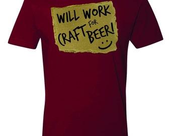 Craft Beer Tshirt Work For Craft Beer Clothing Craft Beer Lover Drinking Tshirt Best Funny Craft Beer Shirt