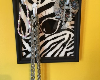 Zebra Jewelry Hanger