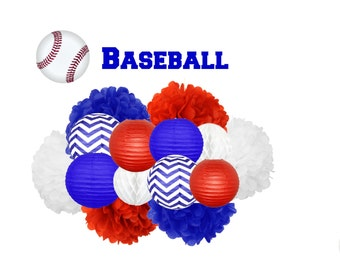 Baseball Party Decoration - Hanging Decoration
