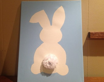 Hoppy Easter Canvas Painting