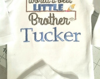 Personalized Big/Little Brother Shirt/Onesie