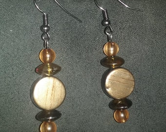 Bronze/Gold Earrings