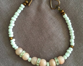 Ivory Blush Bracelet