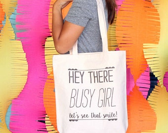 Twiggy - Hey there, Busy Girl! Tote