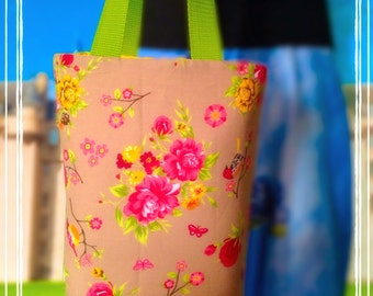 Birds & Flowers Limited edition Reversible shopping bag by Casa Mangano