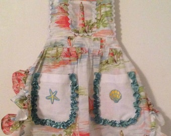 She Sails Mother & Daughter Aprons