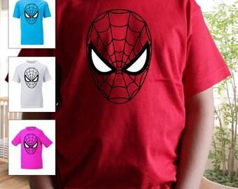 Spiderman Kids Shirt Spiderman Boys T Shirt SUPERHERO COSTUME KIDS T shirt SpiderMan Boys tshirt Spiderman Toddler Shirt Spider-Girl T-Shirt