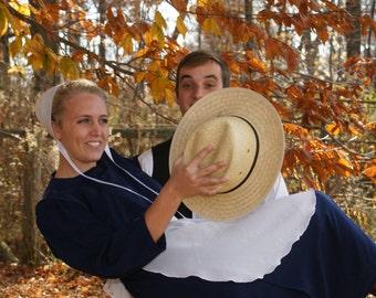 Amish Man's Hat medium, Large and Extra Large
