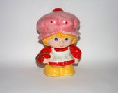 Strawberry Shortcake Coin Bank Vintage 1980s