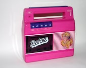 Barbie Take a Long Cassette Player Recorder vintage 1983