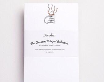 Notepad - Coffee