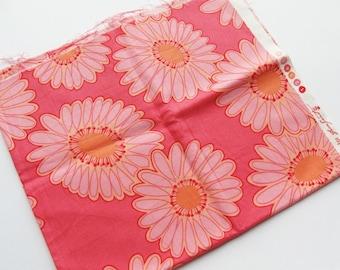 Fleurish by Valeri Wells for Free Spirit - Pink Floral - Fat Quarter - Fabric Destash