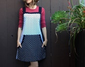 Overall Dress Spicy Toast dots jumper pockets