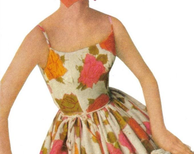 Pretty Rose Art Collage, Floral Fashion Artwork