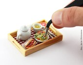 Breakfast in Bed - 1:12 Scale Dollhouse Miniature Tray