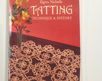 Tatting technique and history = book