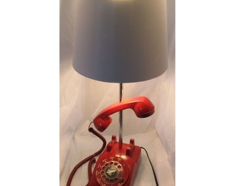 Phone Lamp (red) -  It's for You...