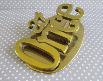Vintage Brass At Once Clip