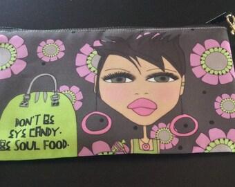 Wristlet - Don't be eye candy.  Be Soul Food.