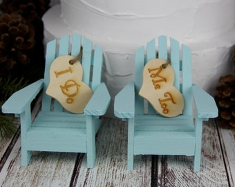 Adirondack Chair Cake Topper, Adirondack Chair, Cake Topper, Miniature  Adirondack Chair, Chair