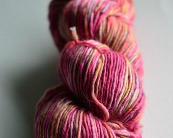 Sansa colorway in Arya DK Singles-Alpaca/merino/silk