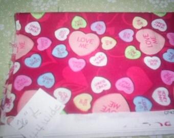 Valentine Fabric Destash