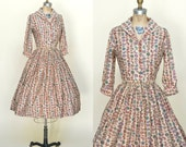1950s Skirt and Blouse Set --- Vintage Campus Casuals Seperates