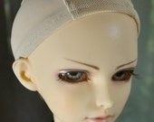 Mesh Wig Cap - Base to make wig for SD Dollfie Luts Volks 1/3 BJD Wig Size 9/10