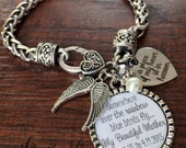 SYMPATHY gift, In memory of sympathy gift, REMEMBRANCE jewelry, remembrance gifts, Somewhere over the rainbow, ANGEL wings, cross charm