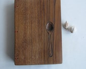 Personaliced Recipe book Wooden covers