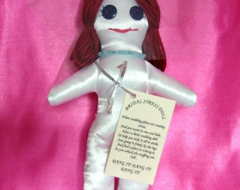 DAMMIT or DANG It Wedding Stress Relief Bride Doll