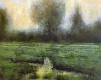 Oil Painting Original Landscape Art by J Shears