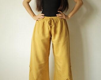 tulip pants...mix silk all color  (M,L,XL)