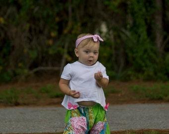 Girls Harem pants - kids pants - Harem pants kids - patchwork - Toddler pants - baby pants - lounge pants - baby pajamas - infant pants