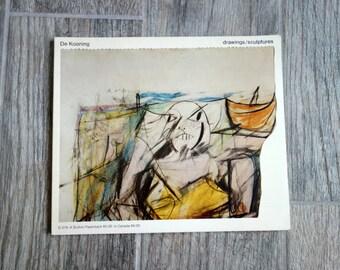 De Kooning Drawings/Sculptures, 1974 Walker Art Center Exhibition Book by Philip Larson and Peter Schjeldahl, 70 Illustrations with Essays