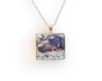 Pet Memorial Necklace - Pet Memorial Jewelry - Pet Remembrance Necklace - Remembrance Jewelry - Instagram Jewelry - Dog Memorial Jewelry